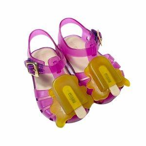 NIB Mini Melissa popsicle jelly sandals